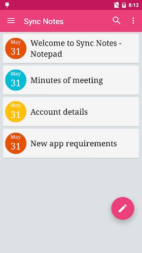 免費下載生產應用APP|Sync Notes - Cloud Notepad app開箱文|APP開箱王