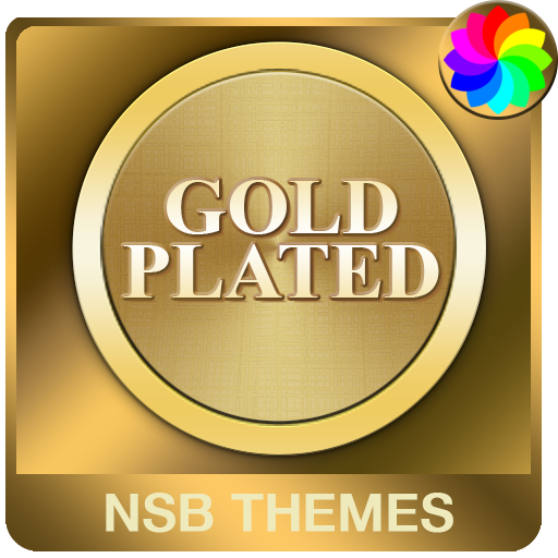 Gold Plated Theme for Xperia