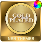 Gold Plated Theme for Xperia icon
