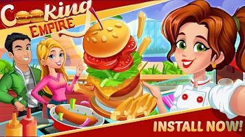 Cooking Empire 2020 - Cooking Games for Girls Joy
