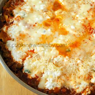 Creamy Skillet Lasagna