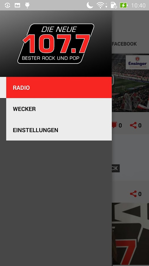DIE NEUE 107.7 - Radio- screenshot