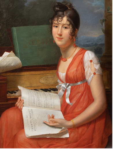 Adèle Romany - Portrait de Melle Thevenet de Montgarrel