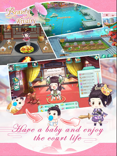Beauty Rivalry: Dress up Story 1.1 screenshots 6