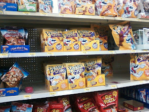 Photo: Then I checked out the other selections available in the dog snack aisle.