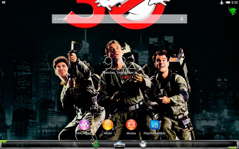 XPERIA™ Ghostbusters Theme- screenshot