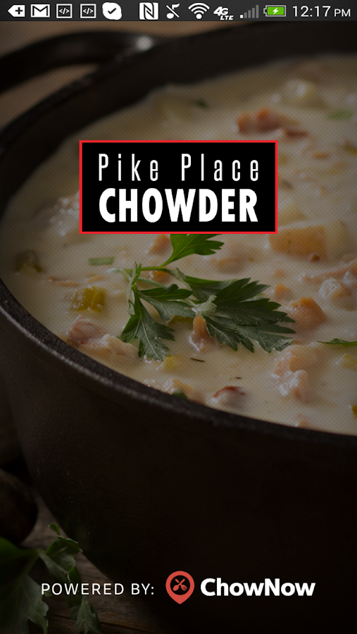 Pike Place Chowder- screenshot