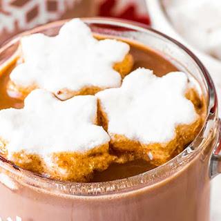 Crock Pot Hot Chocolate.