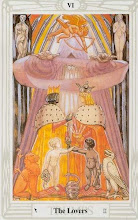 Photo: VI - The Lovers - Os Amantes Thoth Tarot Crowley