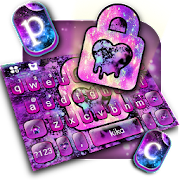 App Galaxy Heart Lock Love Keyboard Theme APK for Windows Phone
