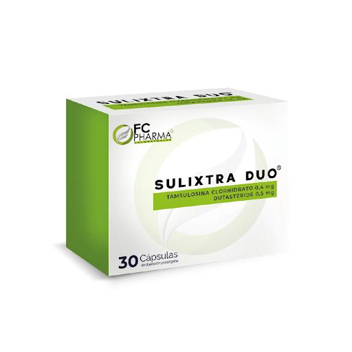 Tamsulosina Dutasteride Sulixtra Duo 0,4mg/0,5mg 30 Cap FC Pharma.