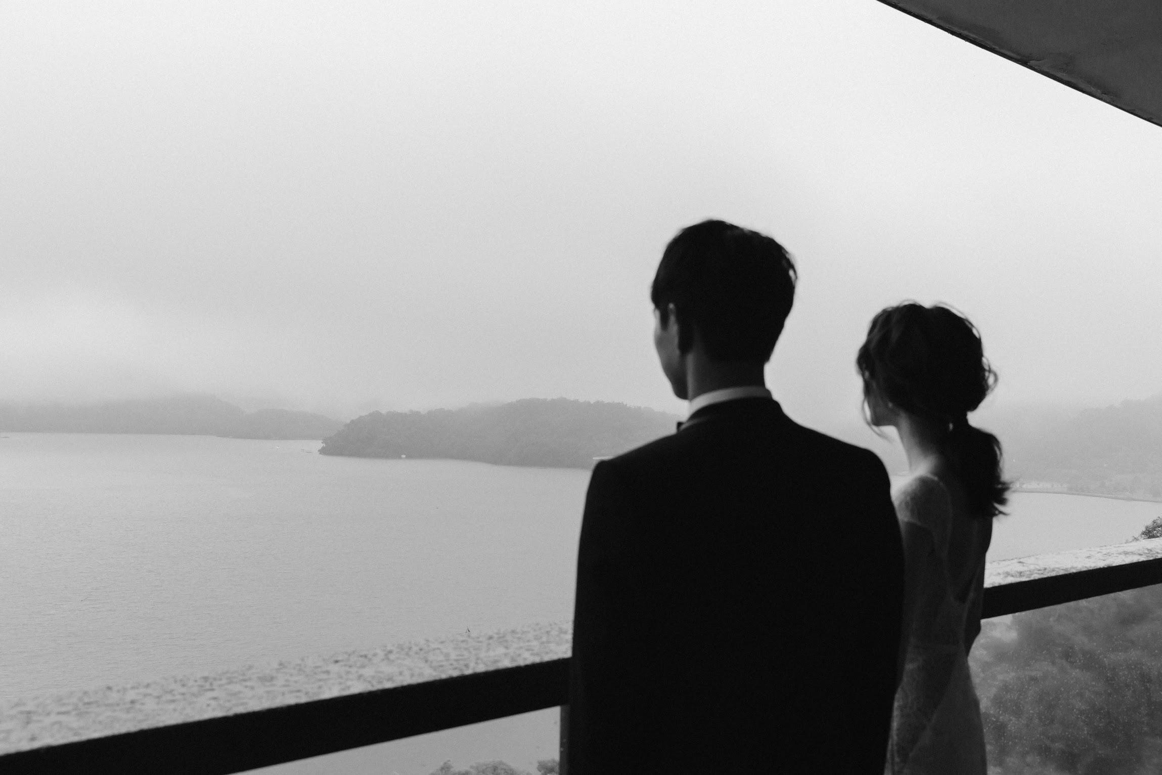 涵碧樓婚禮攝影 -湖景