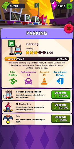 Hell Park - Tycoon Simulator 0.1.43 screenshots 2