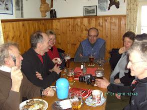 Photo: Einkehr in der Chamer Hütte