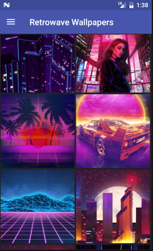 Download Retrowave Wallpapers APK latest version app by Neave for