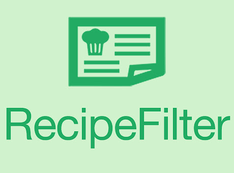 Recipe Filter