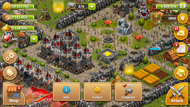 Throne Rush apk screenshot