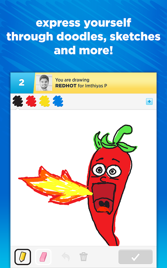 Draw Something- screenshot