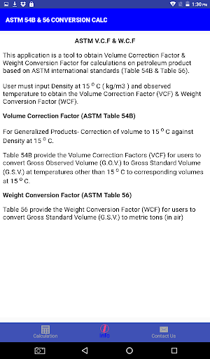 ASTM 54B & 56 CONVERSION CALC by JoeChua (Google Play