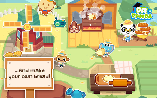 Dr. Panda Farm Aplikacije za Android screenshot