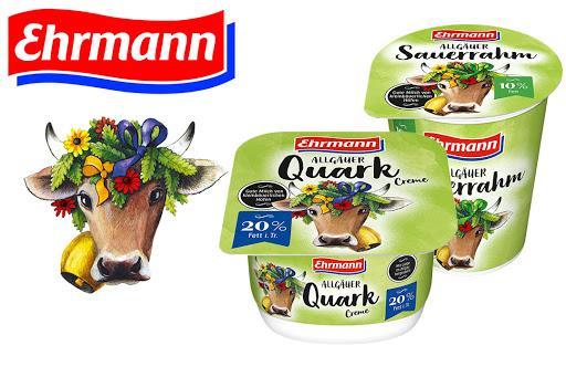 Bild für Cashback-Angebot: Ehrmann Quark Creme oder Sauerrahm - Ehrmann