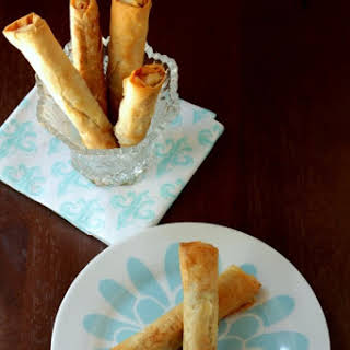 Turkish Cigar Pastry – Savory Spinach & Feta Cigars.