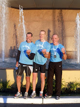 Photo: Team Pickering Finishers after IronPunta, Uruguay 2010