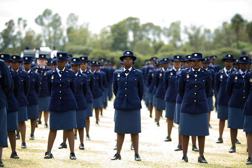 File photo. 935 of the 3'499 new police who are hitting the streets this Christmas are women.