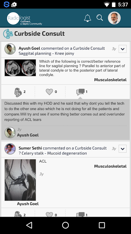 Radiologist Connect- screenshot