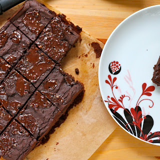 Fudgy Adzuki Bean Brownies