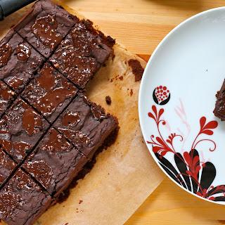 Fudgy Adzuki Bean Brownies.