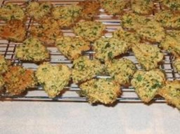 Parsley And Carrot Dog Biscuits Recipe