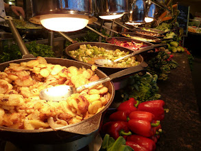 Photo: Part of the buffet