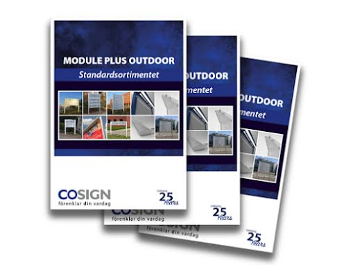 Nyhet! Module Plus outdoor - utomhusskyltar i standardformat