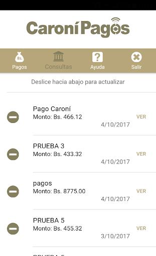 Caronu00ed Pagos Banco Caronu00ed, C.A. Banco Universal 1.5.3 screenshots 9