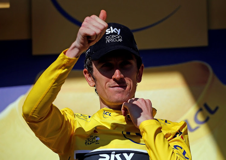 Geraint Thomas. Picture: REUTERS