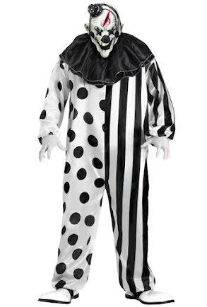 Clowndräkt, skräck