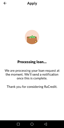 RuCredit - Instant Quick Loans to Your Phone screenshot 5