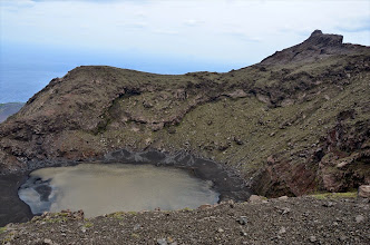 Photo: Cratère éteint du volcan