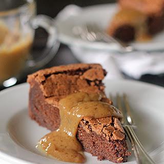 Chocolate Peanut Butter Truffle Torte