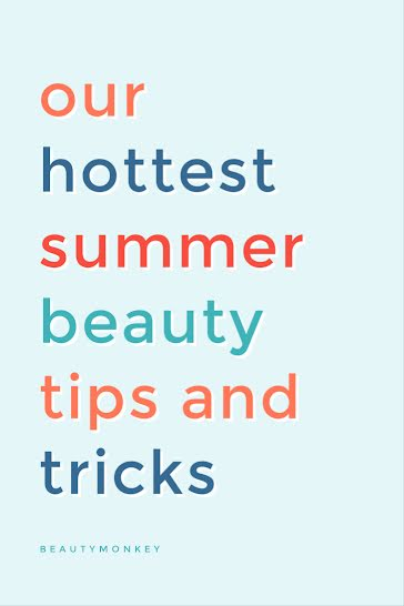 Summer Beauty Tips & Tricks - Pinterest Pin Template
