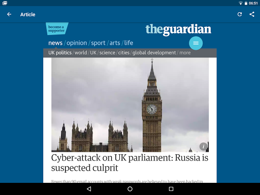 Guardian Reader screenshot 8