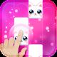 Pink Cat Piano - Magic Girly Piano Tiles Cat icon