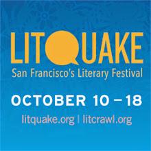 Photo: Litquake 2014 Graphic Bug For Web Use: 250 x 250 72 DPI
