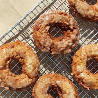 Glazed Apple Cider Doughnuts
