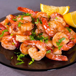 The Best Lemon and Herb Shrimp Made for Weight Watchers.