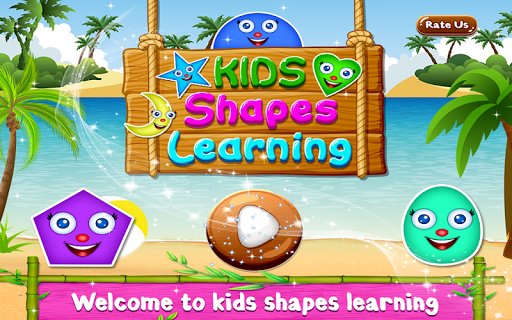 Kids Shapes Learning -  Educational Game For Kids  captures d'écran 1