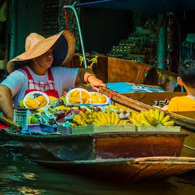 The Boatman by Madhujith Venkatakrishna - People Professional People
