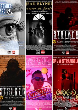 6 courts-métrages réalisés par les membres de notre association durant la saison 2020/2021