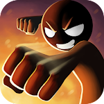Sticked Man Fighting Icon